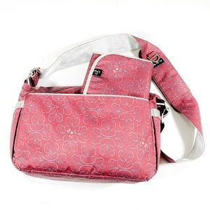 Ju-Ju-Be Mitipocket Diaper Bag Red Velvet.